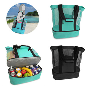 Outdoor Picnic Bag 4 Colors Beach Camping Multi-function Large Capacity Lunch Bags Portable Outdoor Travel Bag OOA7472-7