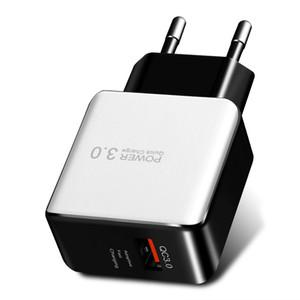 QC3 .0 Adattatore di alimentazione Caricabatterie rapido USB per Xiaomi Huawei Samung