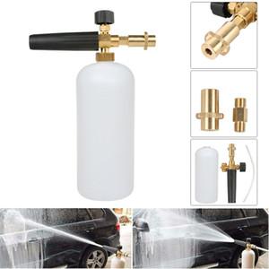 Neve Schiuma Lance Cannon sapone bottiglia dello spruzzatore per la pressione Rondella Jet Car Wash New Car Washer spruzzatore Annaffiatoio Accessori