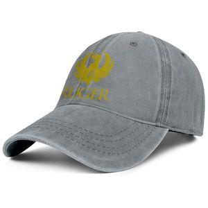 Ruger Giallo Logo berretto da baseball unisex denim fresco vuote simpatici migliori cappelli di Trapani Blu GoWild Camo White Deer fuori porta Mountain Attenzione Gun