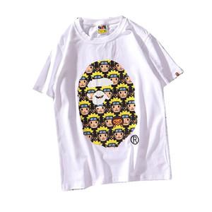 Die Designer-T-Shirts der Männer Affen gehen ein Badet-shirt Pulloverkurzschluss-Camouflage dolce Baumwollaffen T-SHIRT vetements voran