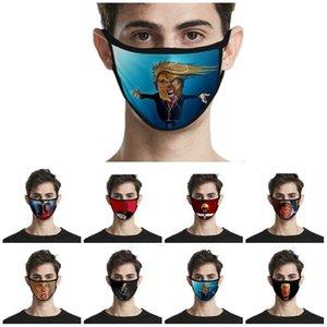 hot Donald 2020 Maks Presidential Election Trump Mask Adult Kids Fashion Anti Dust Face Masks 40style Designer Mask T2I51103