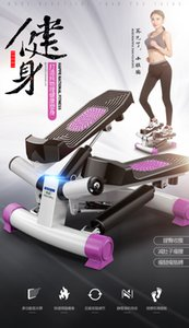 Übung Stepper Haushalt Mini Elliptische Maschine Laufband Jogging Maschine Fitnessgeräte LCD Display 120kg Bearing