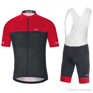 2018 사이클링 저지 마이 Ciclismo 짧은 소매와 사이클링 (턱받이) 반바지 자전거 키트 스트랩 사이클 유니폼 Ciclismo bicicletas B18041605