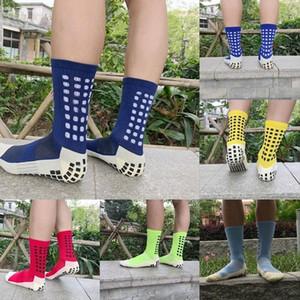 Nouveau Football Chaussettes Anti Slip Chaussettes soccer d'homme Chaussettes de sport de bonne qualité coton Calcetines le même type Comme le Trusox