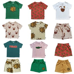 One Day Kids Summer Short Sleeve T Shirt Boy Girl Sun Pattern Top Fashion Brand Child Tshirts Toddler Stylish Tops For Summer Y200704