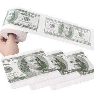 Donald Trump $ 100 Dollar Humour papier toilette Bill toilettes rouleau de papier Nouveauté Cadeau de bâillon Dump Trump drôle Gag chaud cadeau