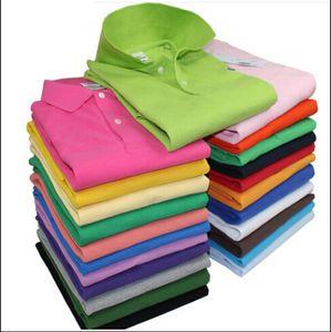Lacoste Camisa de cocodrilo de alta calidad de los hombres pantalones de algodón de agua de lavado sólido verano homme camisetas para hombre polos camisas poloshirt l02