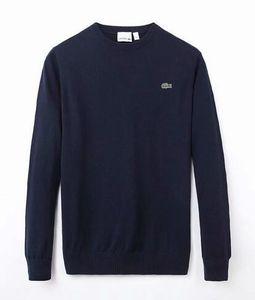 frete grátis 2020 novo de alta qualidade da marca milha wile polo torção camisola dos homens de algodão camisola de malha jumper de pulôver Crocodile jogo PLVD