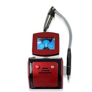 Professionale PicoseCond Laser Beauty Machine ND YAG Laser Pigment Tattoo Rimozione tatuaggio Brown Punti rimozione Back Bambola Trattamento Attrezzature di bellezza