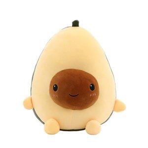 Cute Cartoon Avocado bambola della peluche cuscino giocattolo 25 ~ 60 centimetri creativo Avocado bambola di simulazione di frutta della peluche cuscino giocattolo regalo per i bambini Nuovo