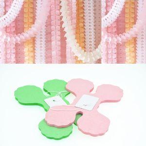 3.6m Four Leaf Clover Paper Garlands valentine's day Bunting Paper garlands for birthday decoration mariage babyshower