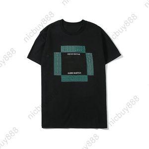 hombre de lujo del verano del diseñador de ropa de primavera 2020 camiseta clásica carta a cuadros con rayas camiseta informal camiseta de manga corta camiseta superior camiseta