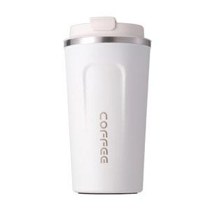17 onces tasse à café en acier inoxydable 5 couleurs de peinture plastique chaud froid boissons Tumbler Double Walled Heat Isolation Coupe avec couvercle OCEAN A09