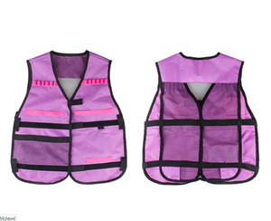 Girls Tactical Vest Kit Compatible with Nerf Guns N-Strike Elite Series with Refill Darts