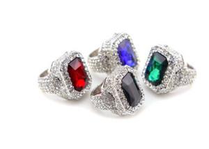 Wonderfu1 anillo de los hombres de cristal de diamante de alta calidad de precio bajo l 7 7 9 9 11
