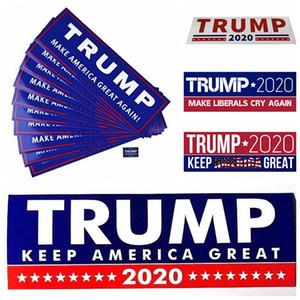 Donald Trump Araç Karoseri Araç Paster DHA8 için 2020 Araba Etiketler 7.6 * 22,9 cm Tampon etiketi Tut Make Amerika Büyük Çıkartması
