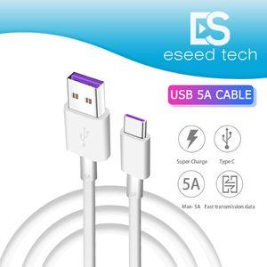 OEM HUAWEI USB 5A Typ C Kabel P30 P20 lite Mate20 PRO USB 3.1 Typ-C SUPER Schnellladegerät Ladekabel Samsung S10 Anmerkung 10 LgAndroid Telefon