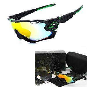 4 Lensler ile Gözlük Running Womens Sport Bisiklet Bisiklet İçin Marka Polarize Güneş Gözlüğü Dağ Bisikleti Moda Güneş