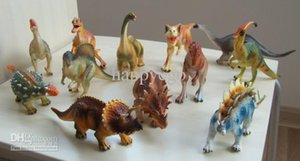 Simulation Animals Dinosaur Toy Set Plastic Play Toys Jurassic Dinosaur Model Action Figures Kids Boy Gift Home Decor 12pcs set