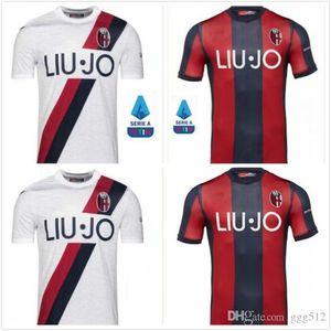 продажа 19 20 Болонского трикотажных изделий футбола 110 лет 2019 2020 дома третьего Orsolini Сориано Sansone Skov Olsen ограниченного тираж футбол рубашка