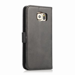 Cover Case For Samsung Galaxy S6 Edge Luxury Flip Wallet Magnetic Closure Stand Leather bags For Samsung S 6 S6edge Fundas