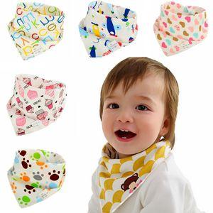 Baby Lätzchen Spucktücher Wasserdichte Dreieck Baumwolle Cartoon Kind Baberos Bandana Lätzchen Babador Dribble Lätzchen Neugeborene Slabber saugfähigen Tuch