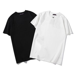 2020 New Summer Mens Designers T Shirt Casual Mens Loose Tees With Letters Print Short Sleeves Luxury Mens T Shirt #12