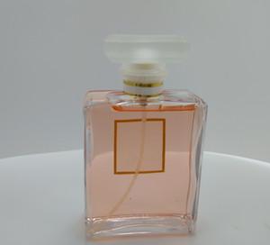Parfüm ücretsiz kargo Kalıcı Parfüm Sprey EAU İHALE EDT 100ML c0c0 Lady Kadın MADEMOISEELLE pembe LADY için 100ML Parfüm