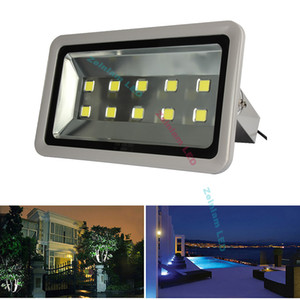 Outside using flood light 150W 200W 300W 400W 500W 600W super bright concentrated IP65 Garden plaza square flood LED street parking lights