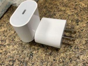 2020-06 18w PD chargeur mural USB C TYPE C Câble de charge prise de charge rapide 18W Power Delivery adaptateur chargeur rapide