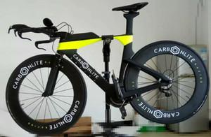 T1000 Karbon fiber triatlon zamanlama çerçevesi tt bisiklet çerçeve yarış TT gidon özelleştirilebilir LOGO marka OEM ODM 48/51/54 cm Avalable