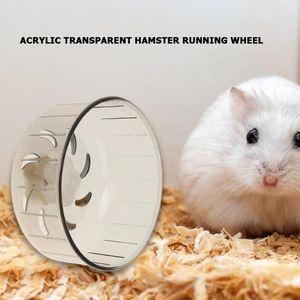 13 CM de Diâmetro Pet Exercício Roda Hamster Disco Hamster Jogging Wheel Running Treadmill Silent Small Pet Sports Running Wheels