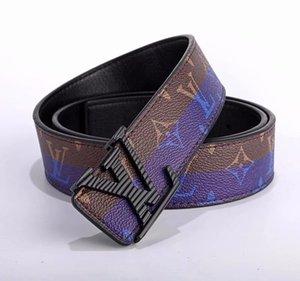 116Hot 고급 벨트 벨트 남성 순결 beltsLV 최고 패션 남성 가죽 벨트 도매 상자 버클 남성 beltsLV을 디자이너