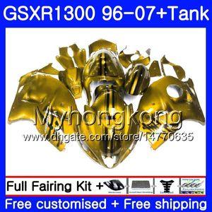 Hayabusa For SUZUKI GSXR1300 96 97 98 99 00 01 07 Kit 333HM.168 Dark gold GSXR 1300 GSX-R1300 1996 1997 1998 1999 2000 2001 2007 Fairing