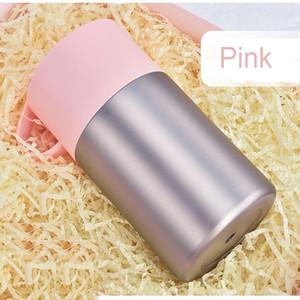 600 ml Thermo Food Jar Vácuo Dupla Parede 304 Aço Inoxidável Tumbler Térmica Fogão 4 Cores