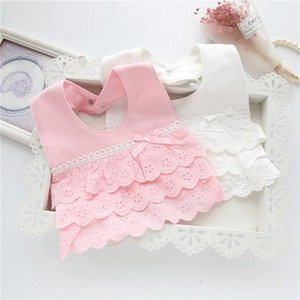 Baby Bibs Cute Cotton Lace Bow Princess Infant Toddler Bandana Bibs Soft Baby Bib Clothing Accessories