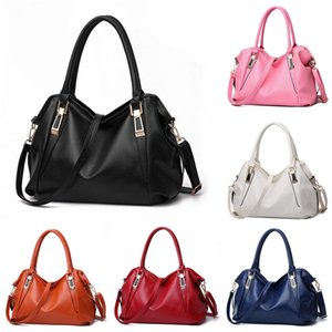 Womens Luxury Designer bag handbags Ladies Multicolor large capacity Solid Color Bag Fashion One-shoulder PU Leather New Style