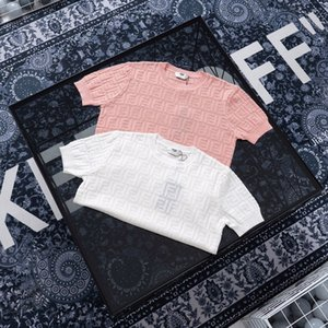 20ss Paris designer Hollow jacquard knitted sweater Tracksuit Women Men Casual Sweatsuit Sport Streetwear Pullovers Sets Outdoor Hoodies