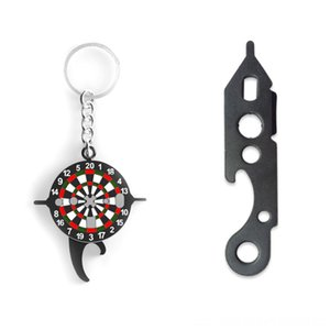 Aolikes Keychain Dart Wrench Tool Tighten Darts Shafts Beer Bottle Opener Other Golf Products Golf Indoor Game