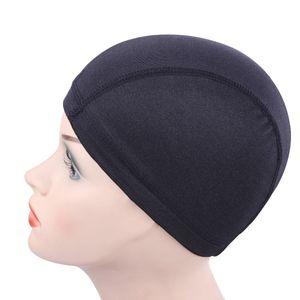 1 unids Glueless Hair Net Liner de la peluca baratos casquillos de la peluca para hacer pelucas Spandex Net Elastic Dome peluca Cap