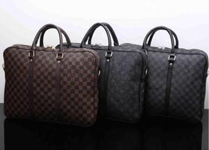 sacs hommes design de luxe ordinateurs portables crossbody sac porte-documents messager affaires bandoulière en cuir PU porte-documents pour homme de la marque hand-mode