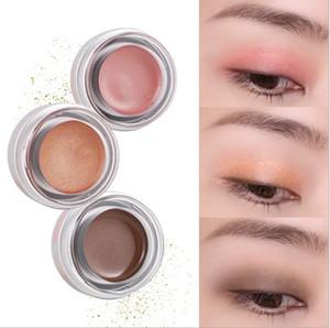 DHL free YANQINA Glitter Makeup Eyeshadow Palette Waterproof Flash Single Color Pearl 5 colors Shimmer Matte Eyeshadow Cream