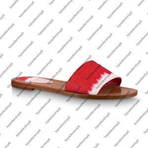 ESCALE bloqueá-lo LISA MULE Mulheres lona Slides Slipper Thong couro sola colorida Patent salto acolchoado sapatos Sandália vermelha-de-rosa azul