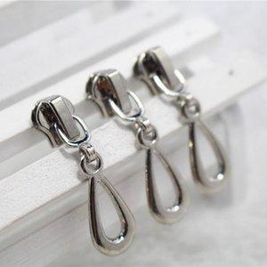 10pcs 3 # 5 # Zipper Sliders metal cremallera tirones cabeza cremallera para bolsas de ropa Herramientas de costura Accesorios Suministros NlDPD