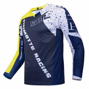 Вновь прибывший Motorcross Джерси мотоциклетного Длинные рукава Велоспорт верхней голова рубашка MTB износ сублимированного одежды