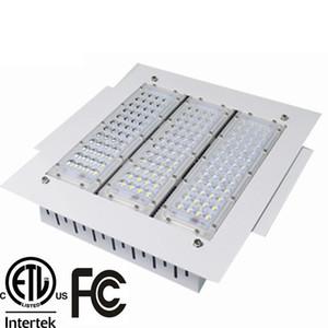 150W Projetores de LED de 200W Canopy Luz 50W 100W 150W alta Bay Luz Recessed montado para posto de gasolina Luz AC 85-277V