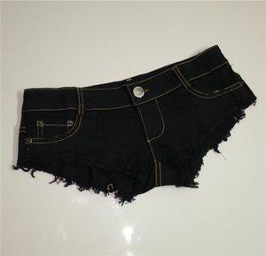 Blackpink neue Sommer Europa und Amerika neue Frauen Casual Shorts Harajuku High Waist Edge Blue Denim Shorts Vintage Solid