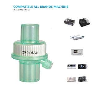 CPAP бактериальный фильтр для дыхательной маски трубка машина аксессуары бактериальные фильтры для Cpap BiPAP шланг апноэ сна храп