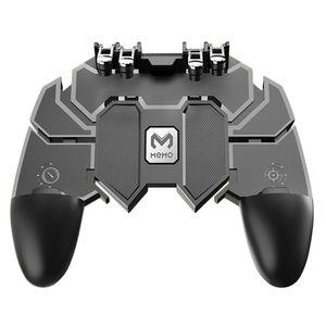 AK66 Seis Dedo All-in-One PUBG Móvel Controlador de Jogo Livre Botão Chave de Fogo Joystick Gamepad L1 R1 Gatilho para PUBG